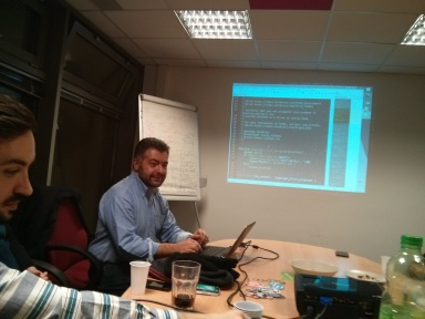 Luca and hands on WordPress code